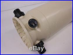 Pentair 160316 Clean & Clear Fiberglass Polypropylene Tank Cartridge Pool Filter