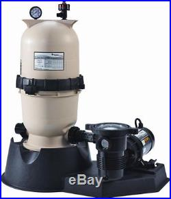 Pentair PNCC0150OF1160 150 Sq. Ft. Clean and Clear Filter System with 1.5HP Pump