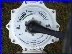 Pentair Quad DE 100 POOL filter withHi Flo Multi Port Valve & 8 insertsCOMPLETE