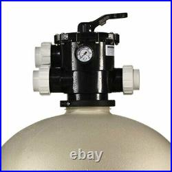 Pentair Sand Dollar Top Mount Clamp Style Multiport Valve Pool Filter(For Parts)