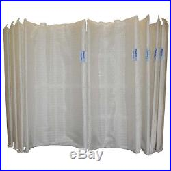 Pleatco PFS2448 48 sqft Filter Grid Set Pentair FNS48 Hayward DE4820 FS2004