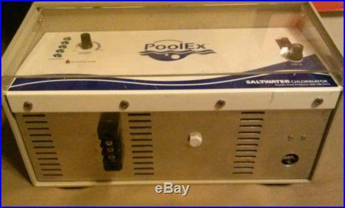 PoolEx saltwater chlorinator pool controller