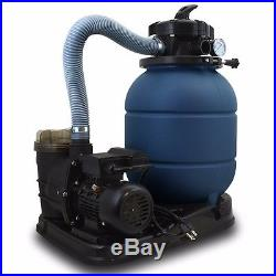 Pro 2400GPH 13 Sand Filter with 3/4 HP Above Ground Swimming Pool Pump 10000GAL