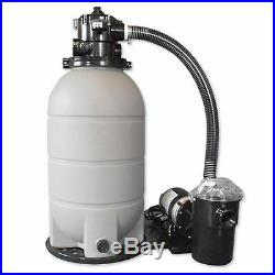 Rx Clear 16 Patriot Above Ground Sand Filter system with 1 HP Niagara Pump