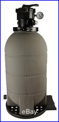Rx Clear 16 Patriot Above Ground Swimming Pool Sand Filter with Valve