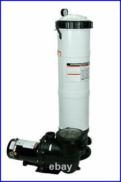 Rx Clear DE 100 Sq. Ft. In-ground Swimming Pool Filter System with 1 HP Pump
