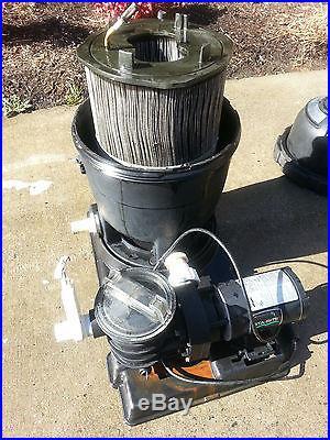Sta Rite System 3 Modular Media Pool Filter Pump Combo
