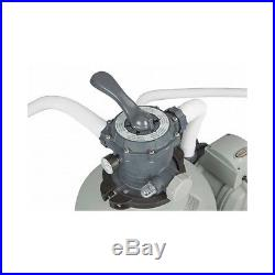Sand Filter Pump System For Above Ground Swimming Pool 3000 GPH