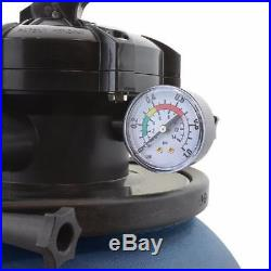 Sand Filter System with Pool Pump Above Ground Swimming Pool 10000GAL 5 Way 13 HP