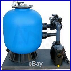 Sandfilteranlage Prima 500 mit Speck Pumpe 8m³ Sandfilter Poolpumpe Filteranlage
