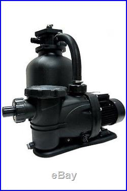 Smart-Clear 19 Tank With 1.5 HP Above Ground Swimming Pool Sand Filter System