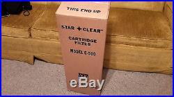 Star Clear Pool Cartridge Filter Model C-500