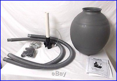 Swim Time 18 in. Sand Filter System with 1 HP Pump for Above Ground Pools W