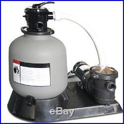 Swimline 16 Above Ground Swimming Pool Sand Master Filter Pump System