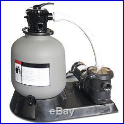 Swimline 16 Aboveground Swimming Pool Sand Master Filter Pump System For Intex