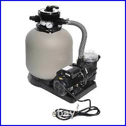 Swimline 2400 GPH 14-Inch. 5 HP High-Quality Pool Sand Filter Pump Combo 71405