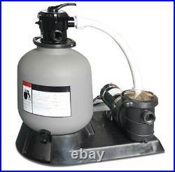 Swimline 71915 19 2900 GPH Sand Filter Pump Above Ground Intex Pool (For Parts)