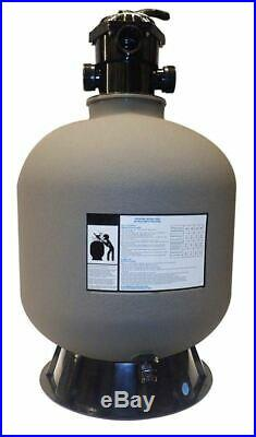 Swimline 72200 22-Inch Sand Filter Tank with Valve and Base