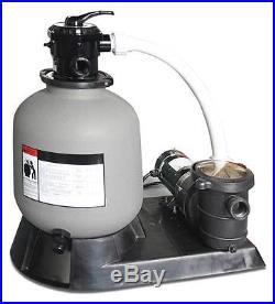 Swimline HydroTools 22 Sand Filter Pump System For Aboveground Swimming Pool