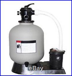 Swimline HydroTools 24 Aboveground Swimming Pool Sand Filter Pump System 72420