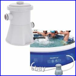 Swimming Pool Filter Pump Electric 220V Plastic Portable Water Cleaning Tools