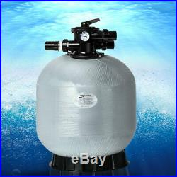 Swimming Pool Sand Filter 6 Way Port Backwash, Recirculate, Filter, Waste, Rin