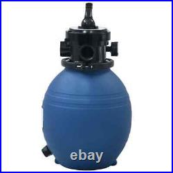 Swimming Pool Sand Filter with 4 Position Valve Inground Pond Fountain System
