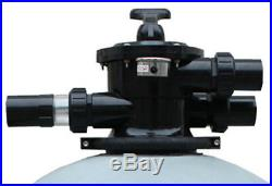 Top-mounted 28 Inground Pool Fiberglass Filter Swimming Pool Sand Valve