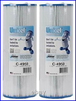Unicel C-4950 Hot Tub and Spa 50 Sq. Ft. Replacement Filter Cartridge (2 Pack)