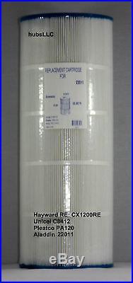 Unicel C-8412 Aladdin 22002 Hayward C-1200 Filbur FC-1293 PA120 filter cartridge