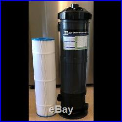 Valterra Blue Devil B8370 Pool Cartridge Canister Filter 70sq ft