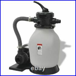 VidaXL Swimming Pool Sand Filter with Pump 0.35 HP Pool Water Cleaning System