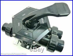 Waterco Sand Filter Multi Port Valve 40mm Ports-Screw On Type 228042 Top Mount