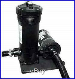 Waterway 520-3010 Above Ground Pool 1hp Pump 50sf Filter System
