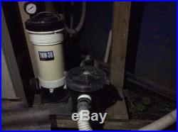 Waterway Above Ground Filter System TWM-30 Cartridge with Trap 520-4070