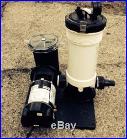 Waterway Cartridge Filter System With AquaMaster Pump