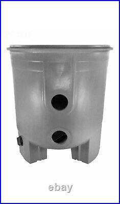 Waterway WW5504407 Crystal Water Filter Body with Labels Gray