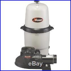 XStream Hayward Full-Flo Filter System 100 sq. Ft. With 1HP Power-Flo Matrix Pum