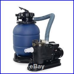 XtremepowerUS 5 Way 13 Sand Filter 10000GAL plus 3/4 HP Aboveground Pool Pump