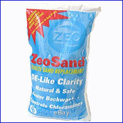 Zeosand Alternative Sand Media For Swimming Pool Sand Filters-50 lbs